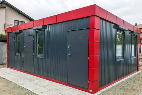 Container conliving for Moderne wohncontainer