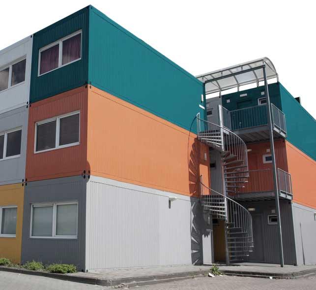 Conliving GmbH - Mannschaftscontainer - Bild