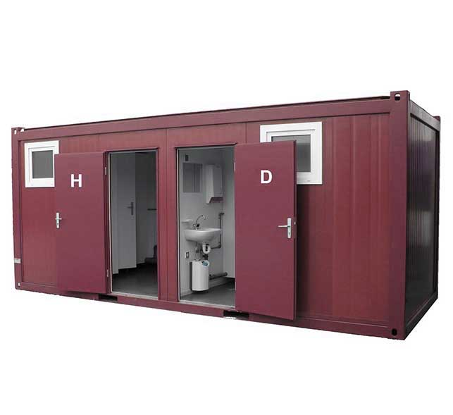 Conliving GmbH - Sanitärcontainer - Bild