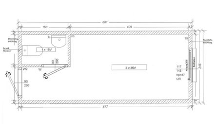 Bürocontainer-BC2-Skizze