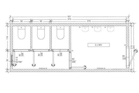 Sanitärcontainer-SC2-Skizze