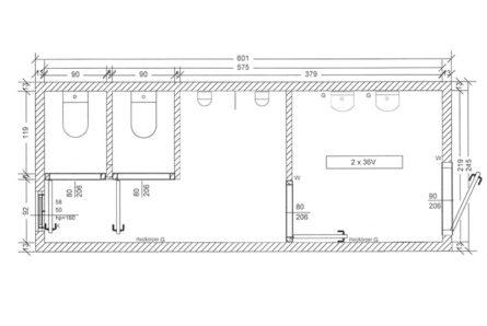 Sanitärcontainer-SC3-Skizze