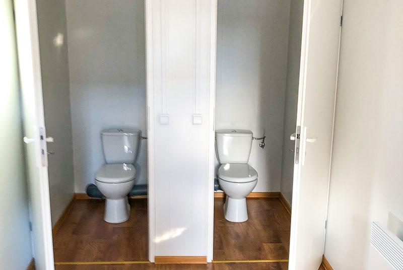 Toiletten-Sanitärcontainer