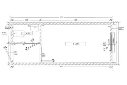 Bürocontainer-BC3-skizze