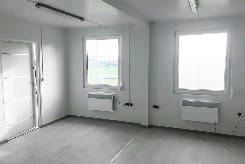 Doppel-Mannschaftscontainer DBC 2.1 (29,4m²)