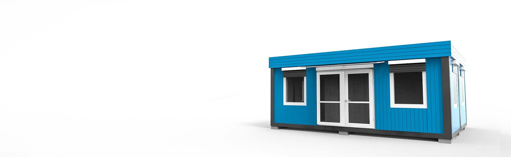 Willkommen bei Conliving! Hier finden Sie Ihren richtigen Wohn-, Büro- oder Verkaufscontainer