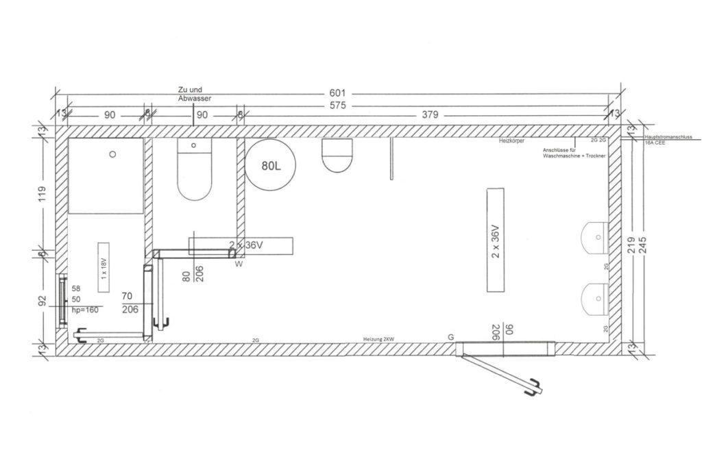 Sanitärcontainer-SC0-Skizze